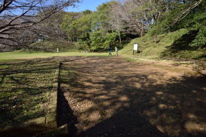 佐倉城・一の門跡