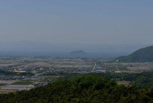 小谷城・竹生島