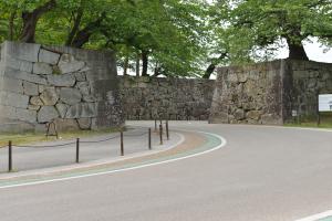 彦根城・京橋口門跡