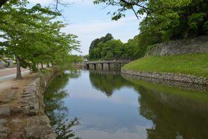 彦根城・大手門の橋