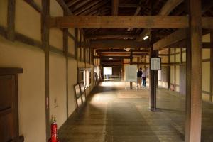 彦根城・天秤櫓内部