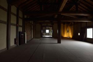 彦根城・西の丸三重櫓内部