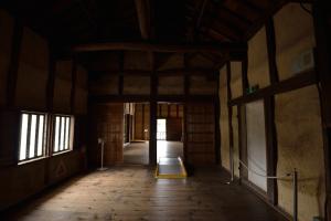 彦根城・二の丸佐和口多聞櫓・内部