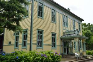 郷土の森・旧府中町役場庁舎