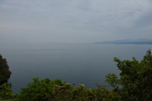 大崎寺・琵琶湖