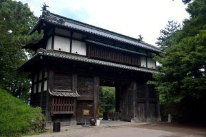 弘前城・南内門