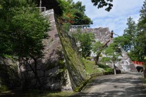 盛岡城跡・本丸石垣
