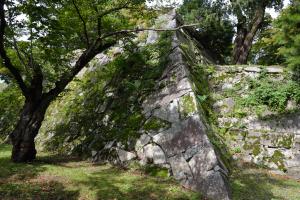 盛岡城・石垣