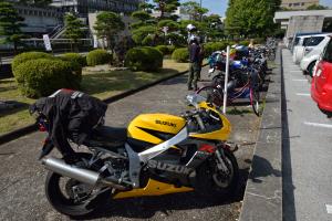 高知県庁の駐輪場