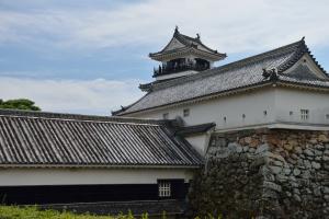 高知城・詰門と廊下門