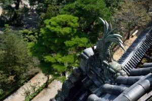 高知城・天守の鯱