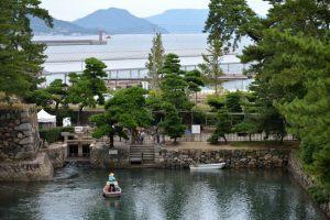 高松城・水門