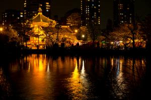 上野公園・弁天堂
