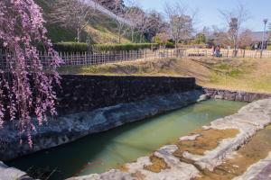 掛川城・十露盤堀