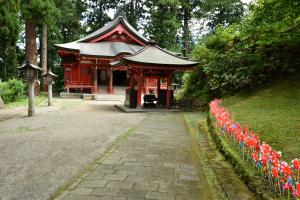 羽黒山・霊祭殿
