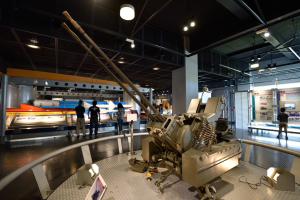 浜松基地エアーパーク・ラインメタル対空20ミリ2連砲