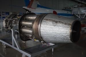 浜松基地エラーパーク・J-47エンジン