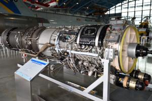 浜松基地エアーパーク・J-79エンジン
