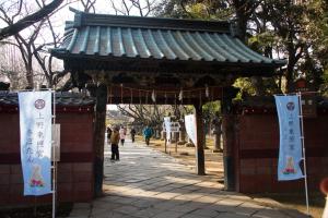 上野東照宮・入口