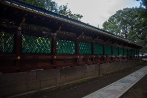 上野東照宮・透塀