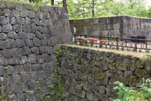 金沢城・裏口門跡