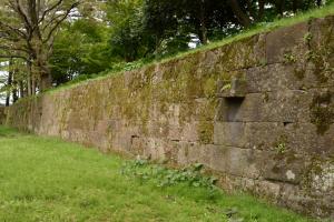 金沢城・数寄屋敷の石垣