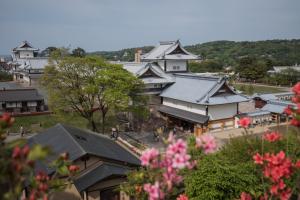金沢城・戌亥櫓跡からの眺め