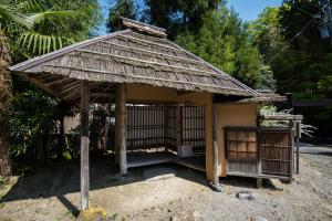 七尾城史資料館・旧樋爪家住宅の茶室