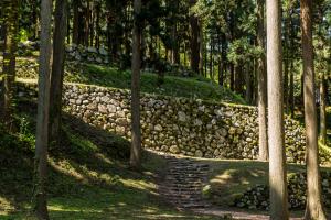 七尾城・桜馬場の石垣