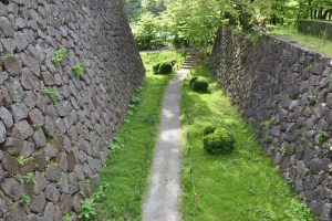 金沢城・極楽橋の堀