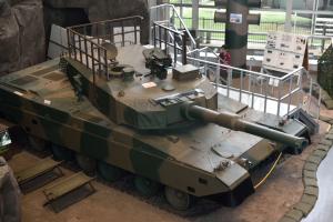 自衛隊広報センター・90式戦車