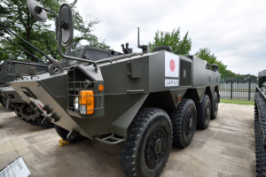 自衛隊広報センター・96式装輪装甲車