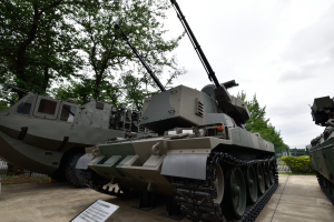 自衛隊広報センター・87式自走高射機関砲