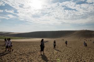鳥取砂丘・馬の背
