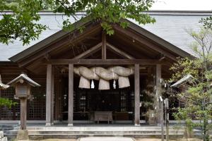 長浜神社・拝殿