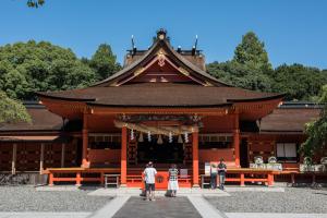 富士山本宮浅間大社・拝殿