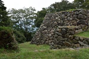 高取城・石垣