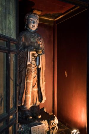 飛鳥寺・聖徳太子像