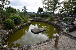 飛鳥寺・池