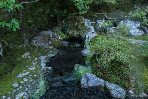 銀閣寺・お茶の井