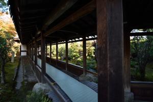 天龍寺・多宝殿への廻廊