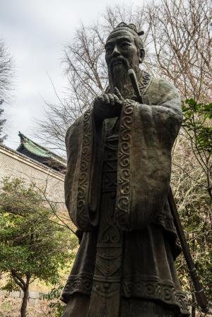 湯島聖堂・孔子像