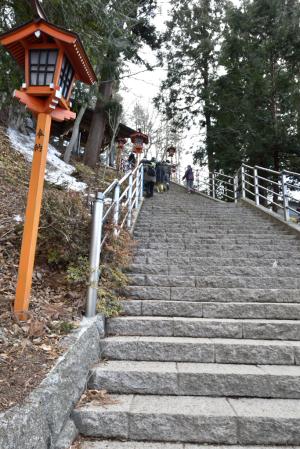 新倉山浅間公園・浅間神社へ