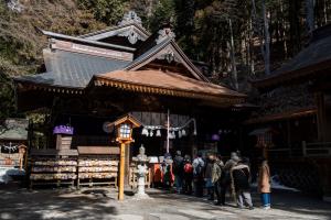 新倉山浅間公園・拝殿
