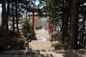 新倉山浅間公園・鳥居