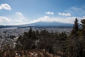 新倉山浅間公園・富士山