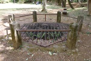 滝山城・本丸の井戸