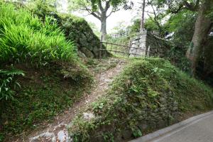 延岡城・天守台旧入り口