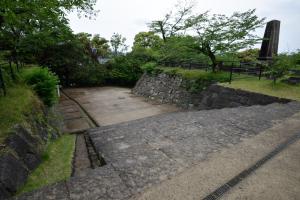 延岡城・二階門櫓跡