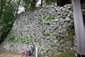 延岡城・北大手門の石垣